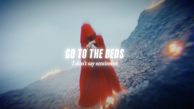「I don't say sentiment」MVの画像