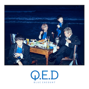 BLUE ENCOUNT 4th Album『Q.E.D』通常盤の画像
