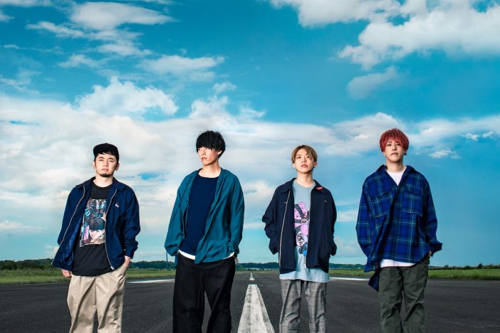 04 Limited Sazabys、地元・愛知にて単独公演『YON EXPO'20』開催 滑走路で撮影された新ビジュアルも