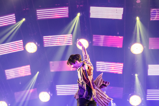 『Official髭男dism ONLINE LIVE 2020 - Arena Travelers -』(写真=溝口元海(be stupid))