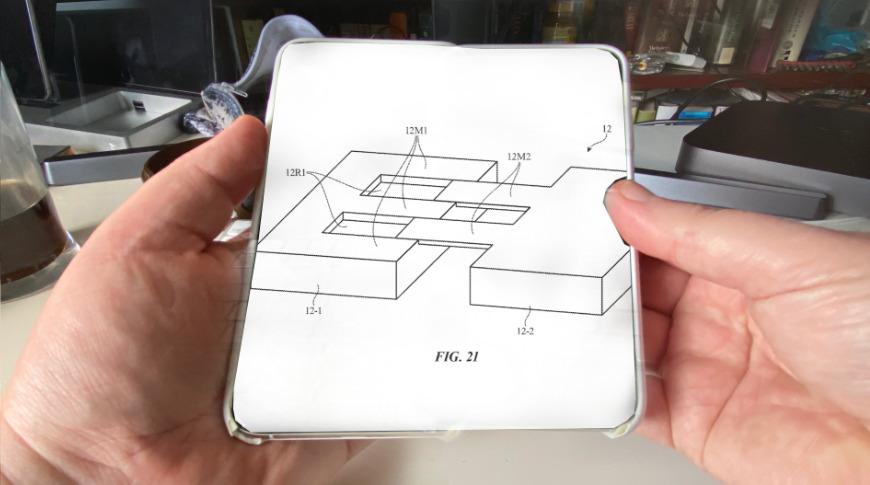 スライド式iPhone登場か? ディスプレイ拡張特許をAppleが取得