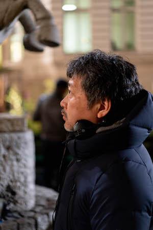 是枝裕和監督(c) Laurent  Champoussin
