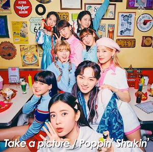 NiziU『Take a picture / Poppin' Shakin'』