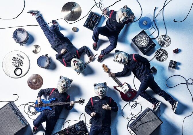 MAN WITH A MISSION、新シングル『INTO THE DEEP』アートワーク公開 フィルムツアーの開催も